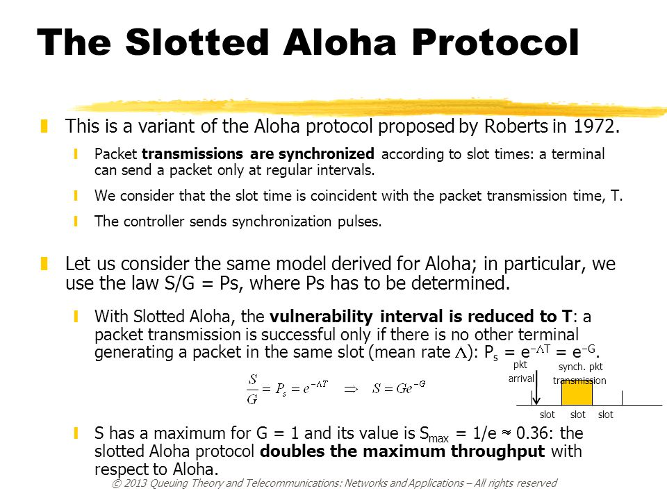 The Slotted Aloha Protocol