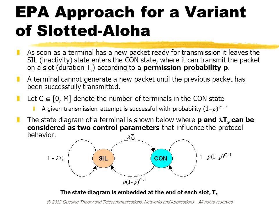 EPA Approach for a Variant of Slotted-Aloha