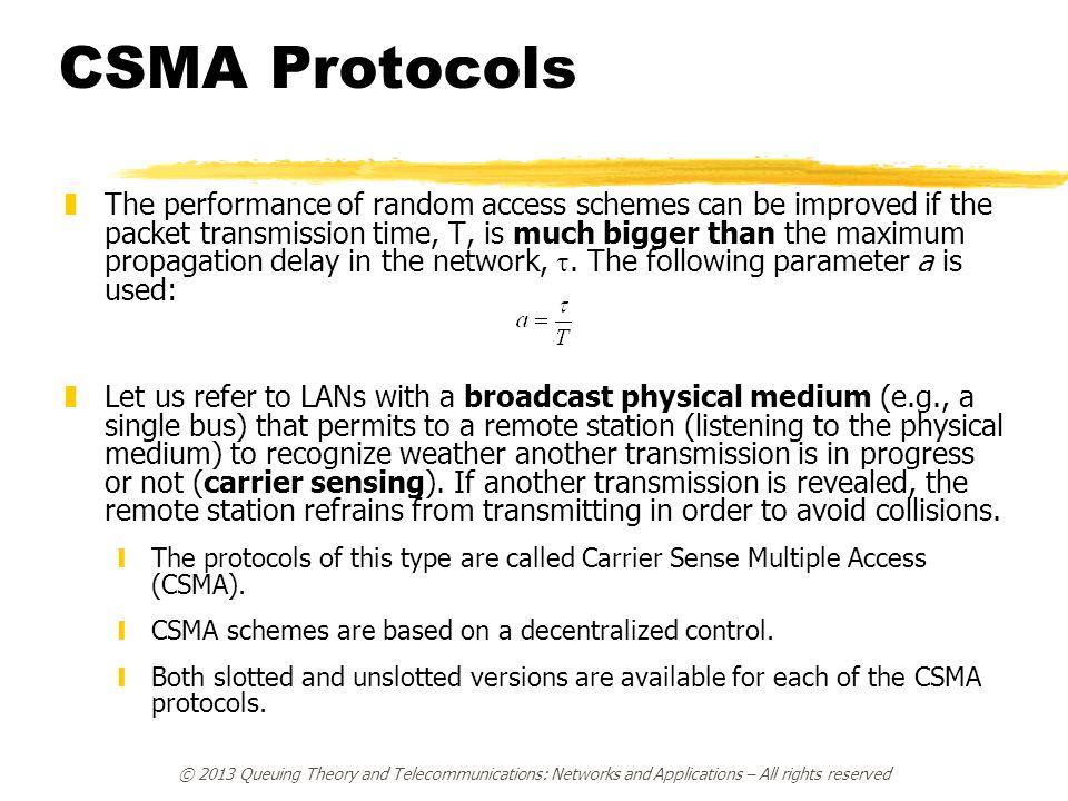 CSMA Protocols