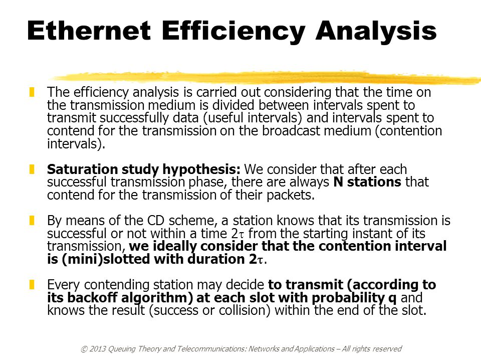 Ethernet Efficiency Analysis