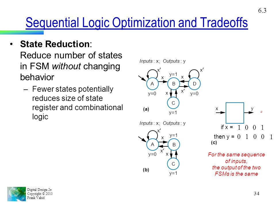 Sequential Logic Optimization and Tradeoffs