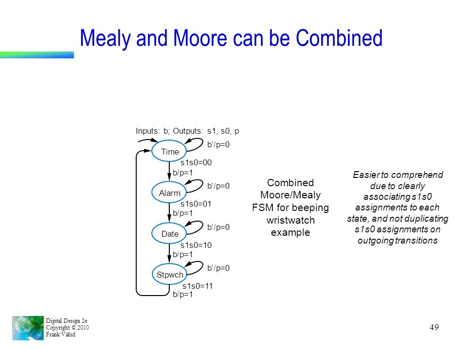 Mealy and Moore can be Combined