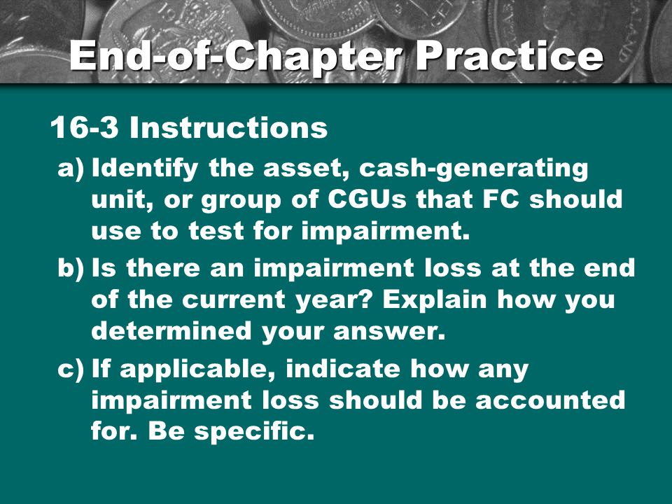 End-of-Chapter Practice