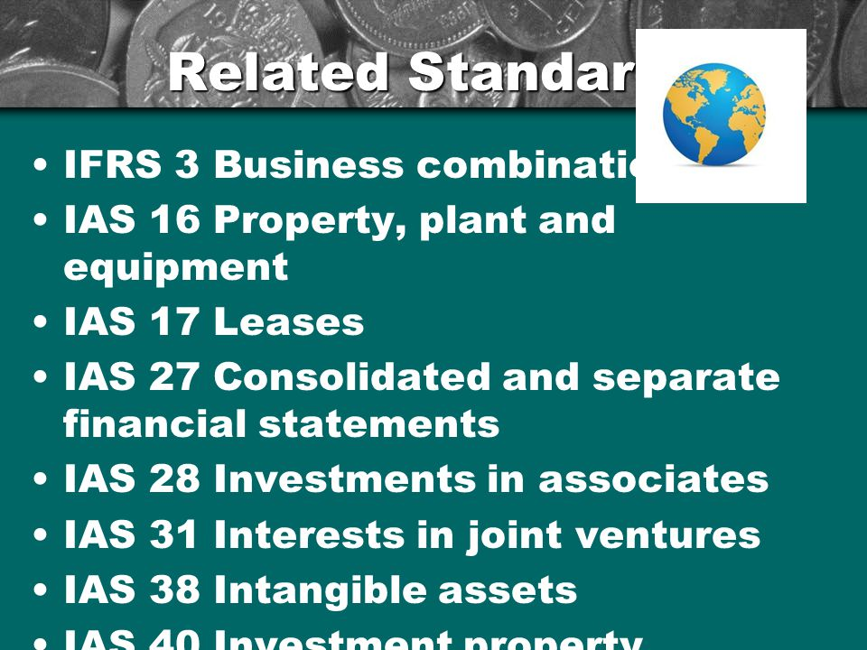 Related Standards IFRS 3 Business combinations