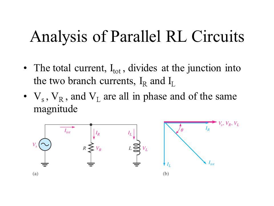 Analysis of Parallel RL Circuits