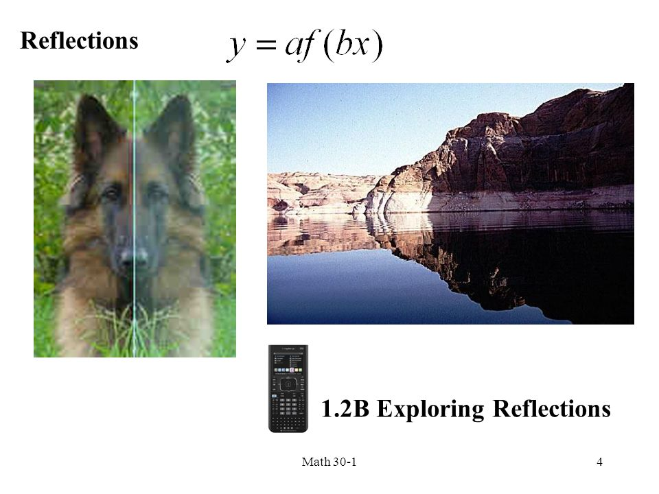 1.2B Exploring Reflections
