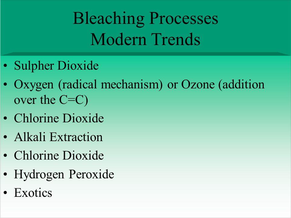 Bleaching Processes Modern Trends