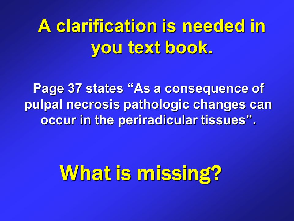 A clarification is needed in you text book.