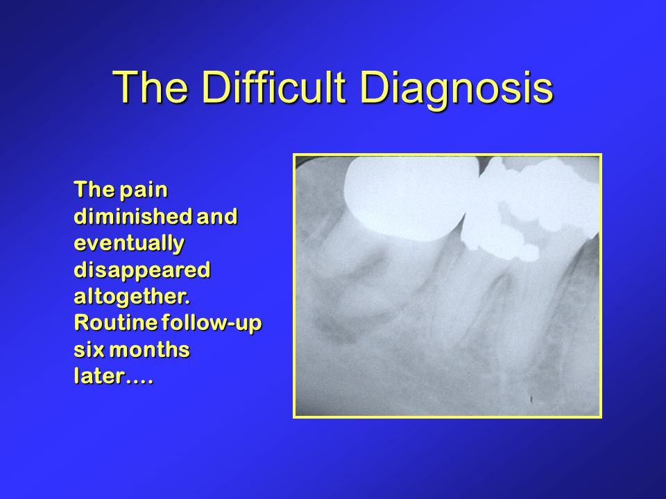 The Difficult Diagnosis