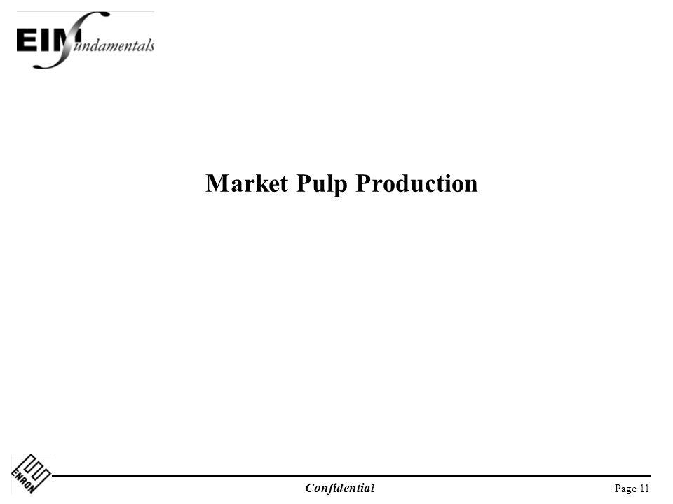 Market Pulp Production