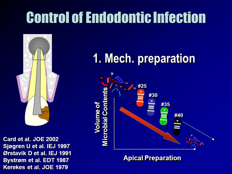 Control of Endodontic Infection