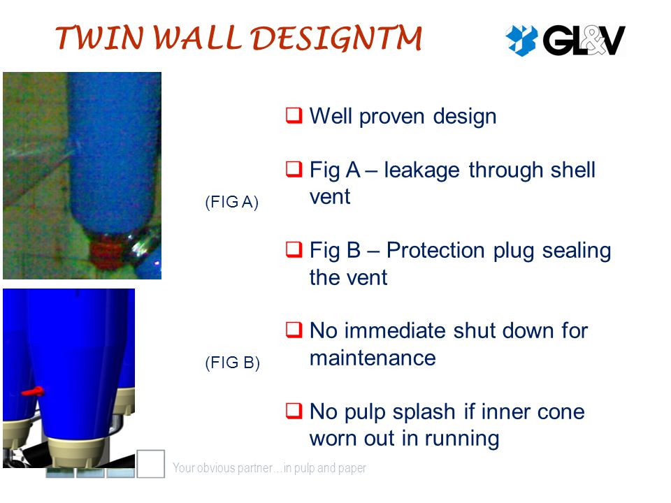 TWIN WALL DESIGNTM Well proven design