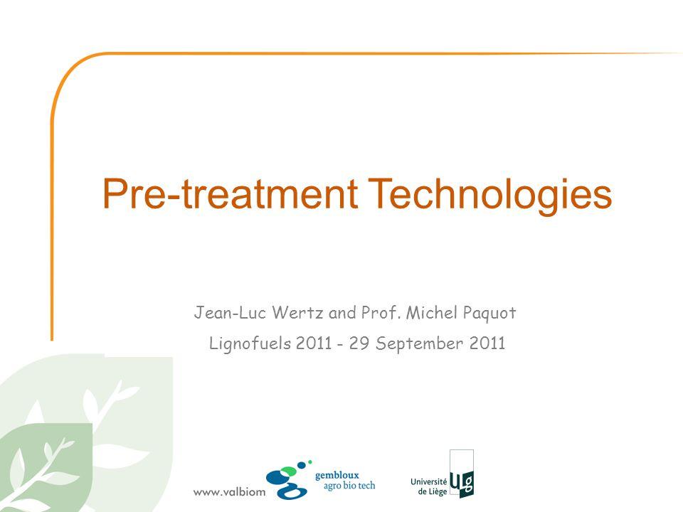 Pre-treatment Technologies