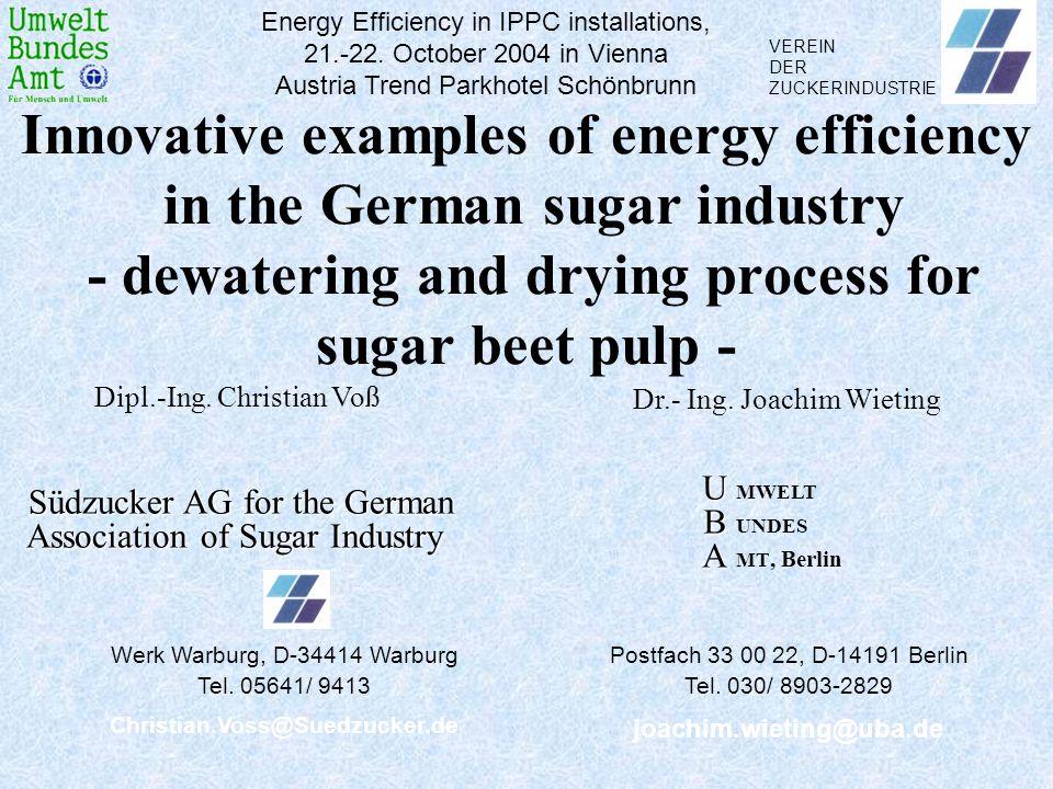 Energy Efficiency in IPPC installations,