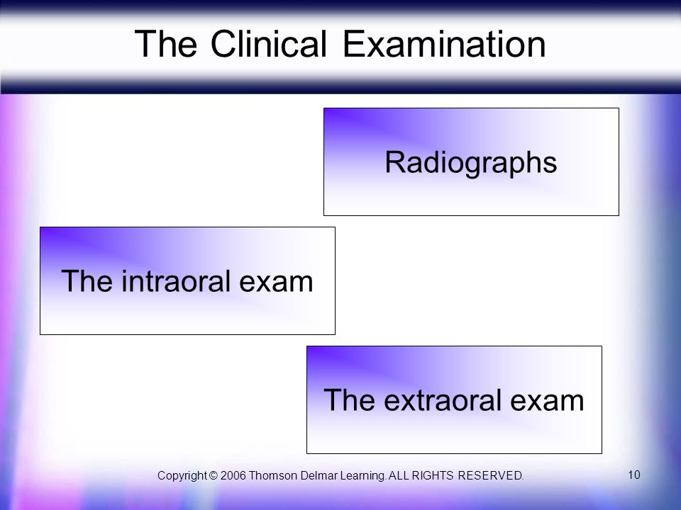 The Clinical Examination