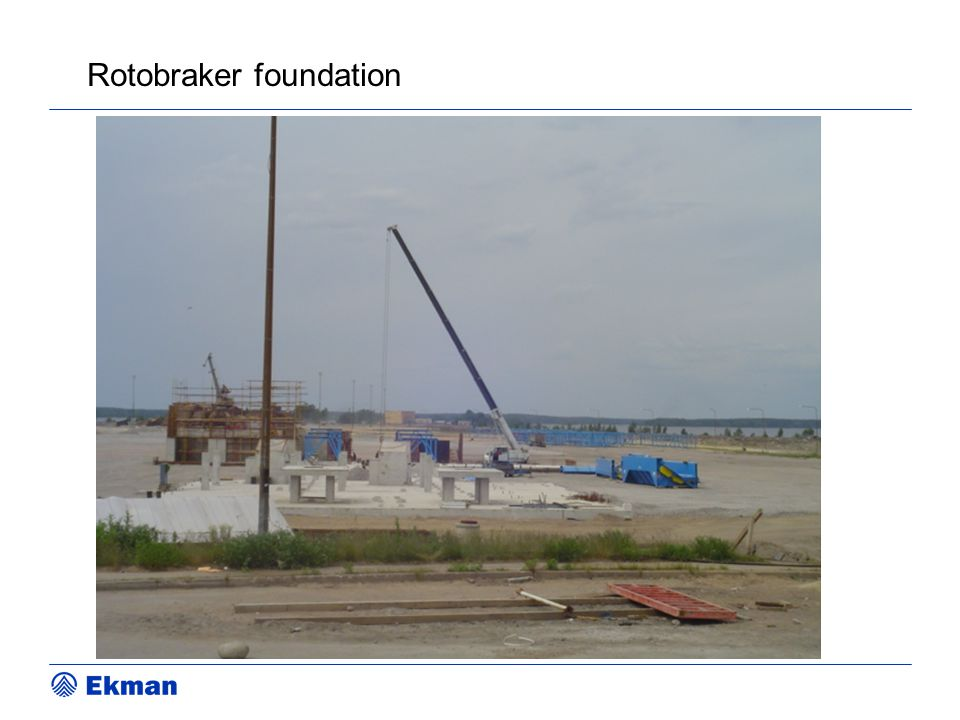 Rotobraker foundation