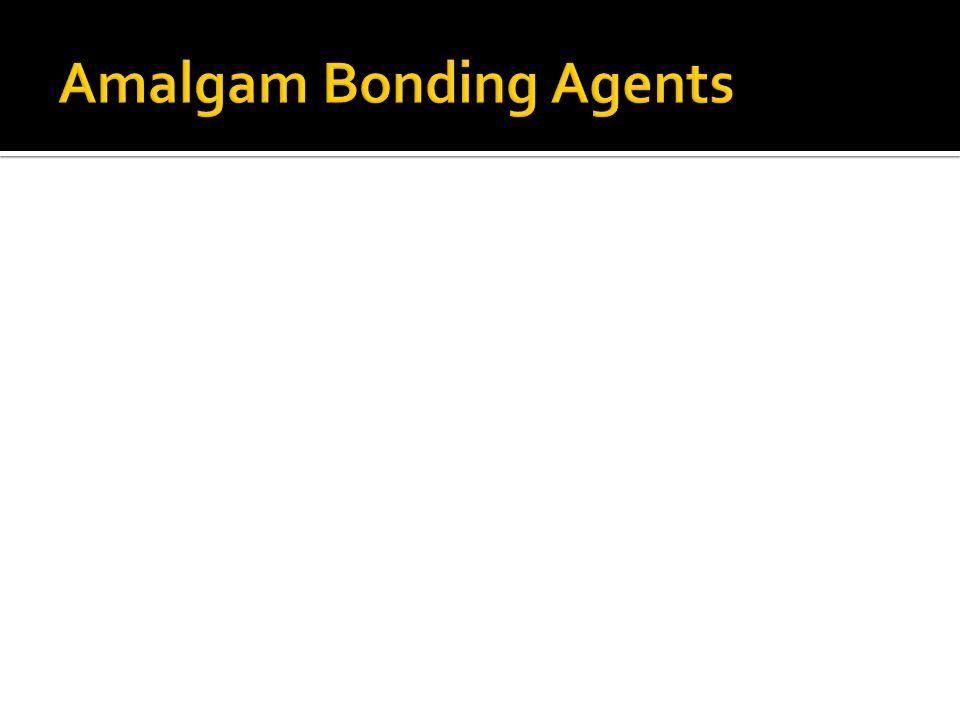 Amalgam Bonding Agents