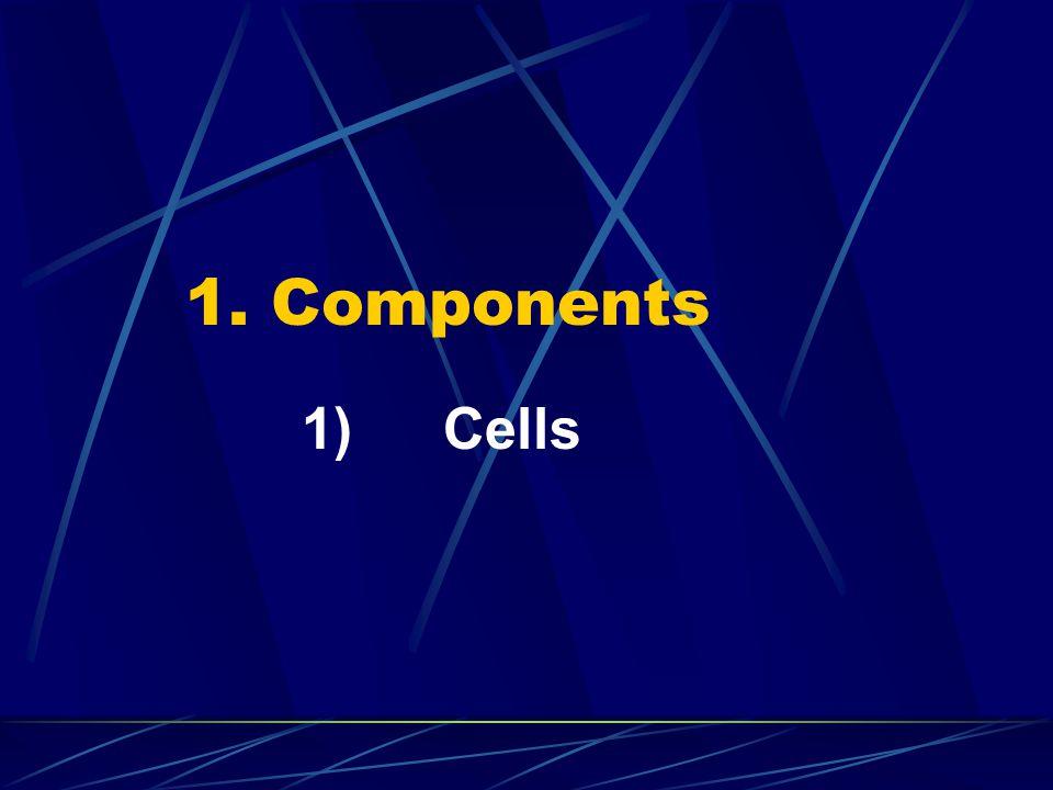 1. Components 1) Cells