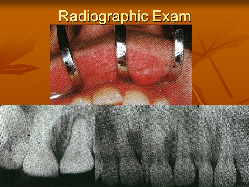 Radiographic Exam