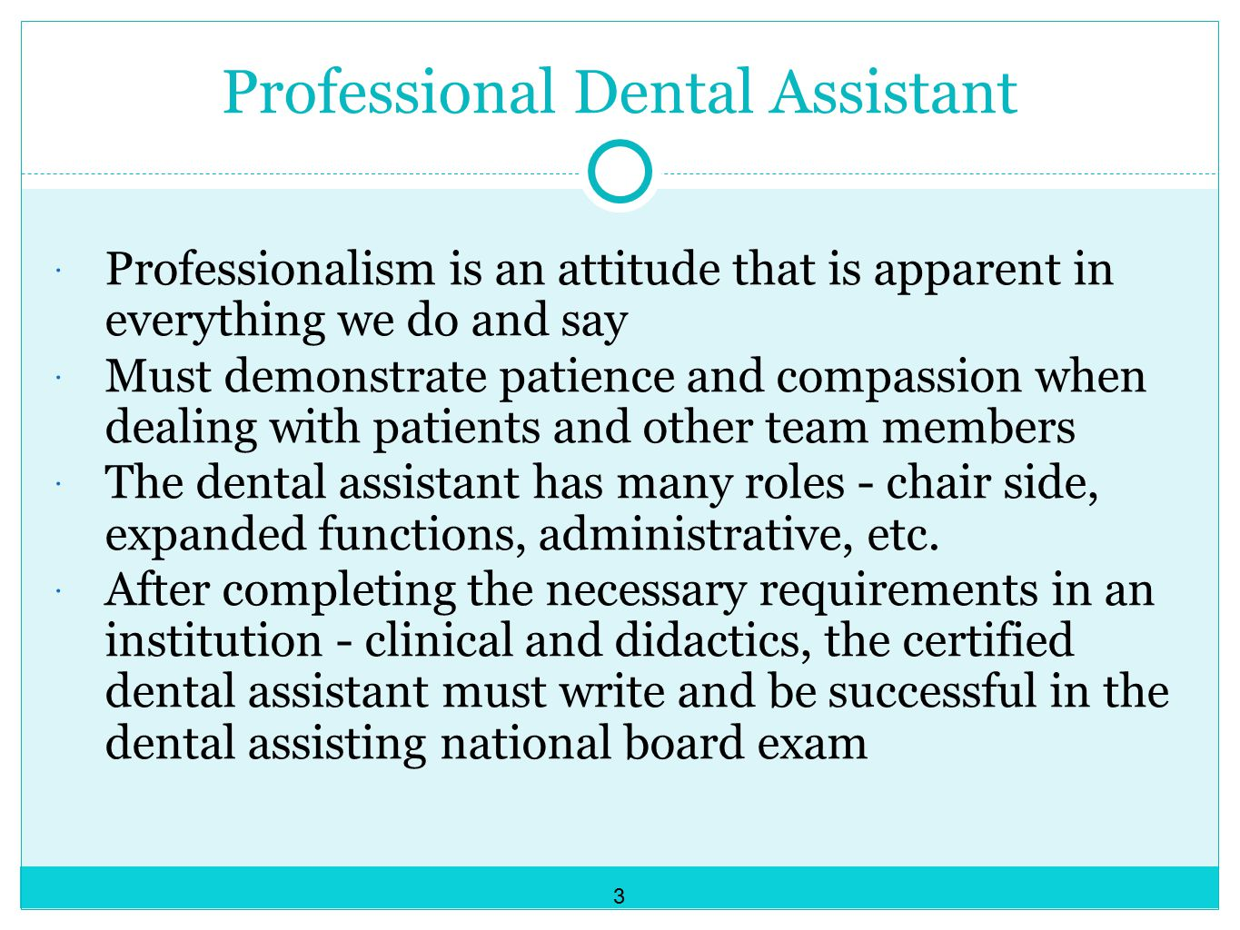 Professional Dental Assistant