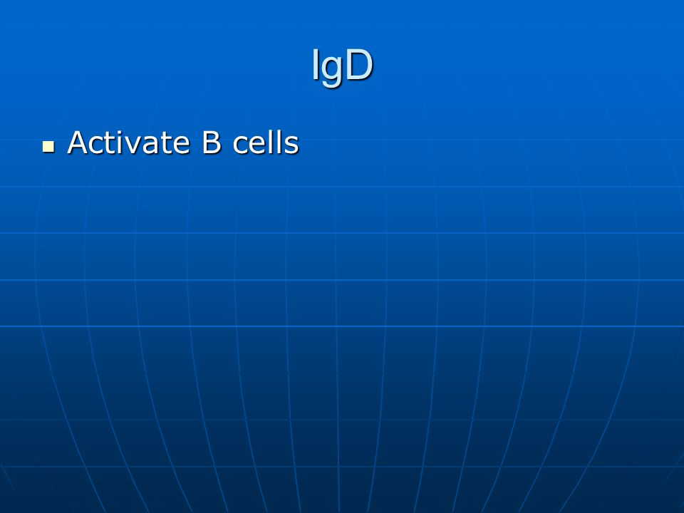IgD Activate B cells