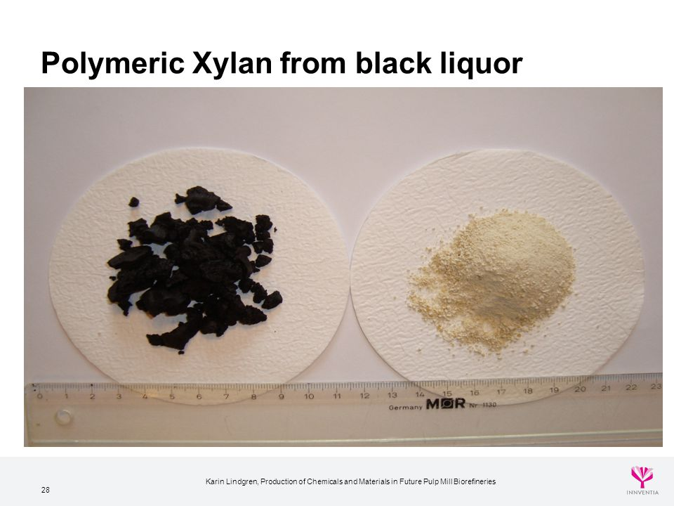 Polymeric Xylan from black liquor