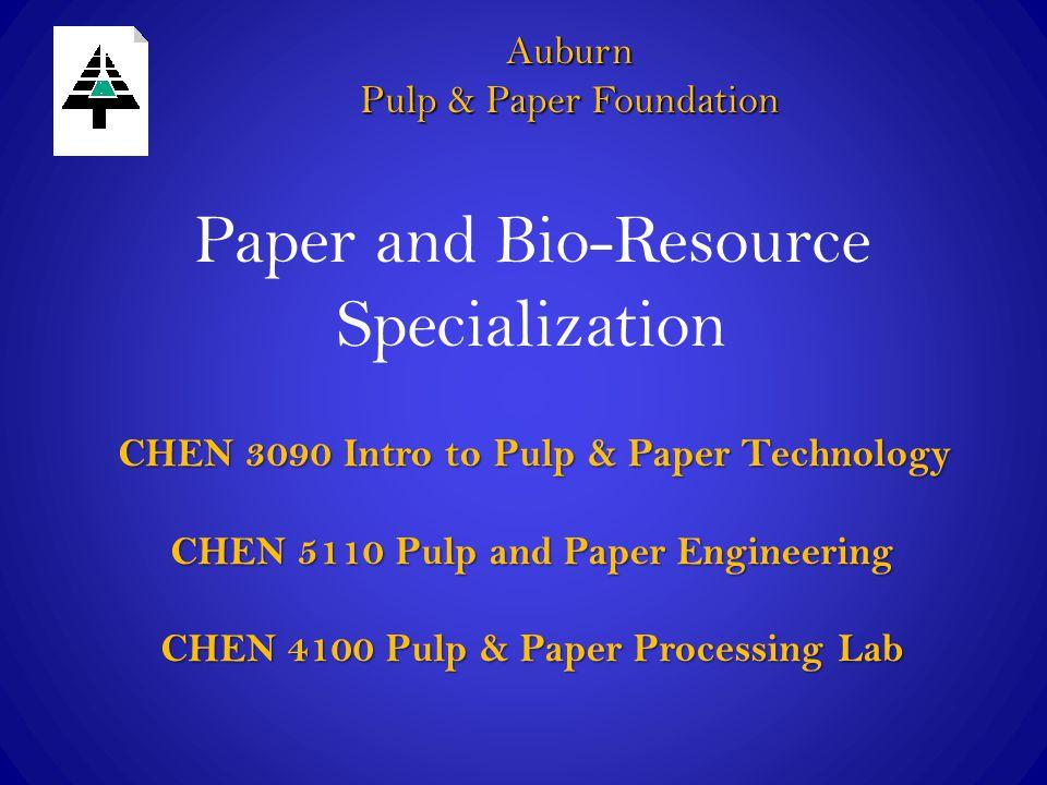 Paper and Bio-Resource Specialization