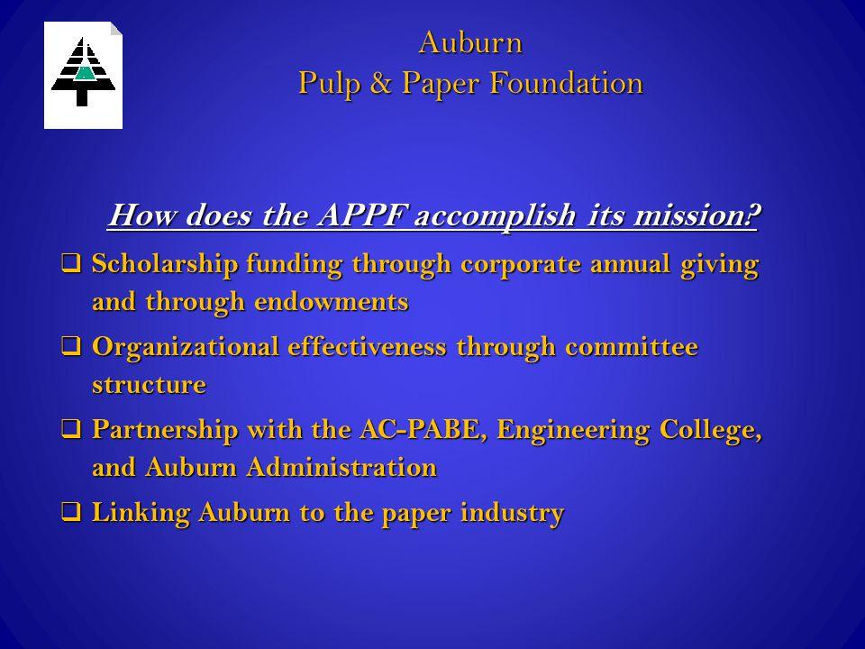 How does the APPF accomplish its mission