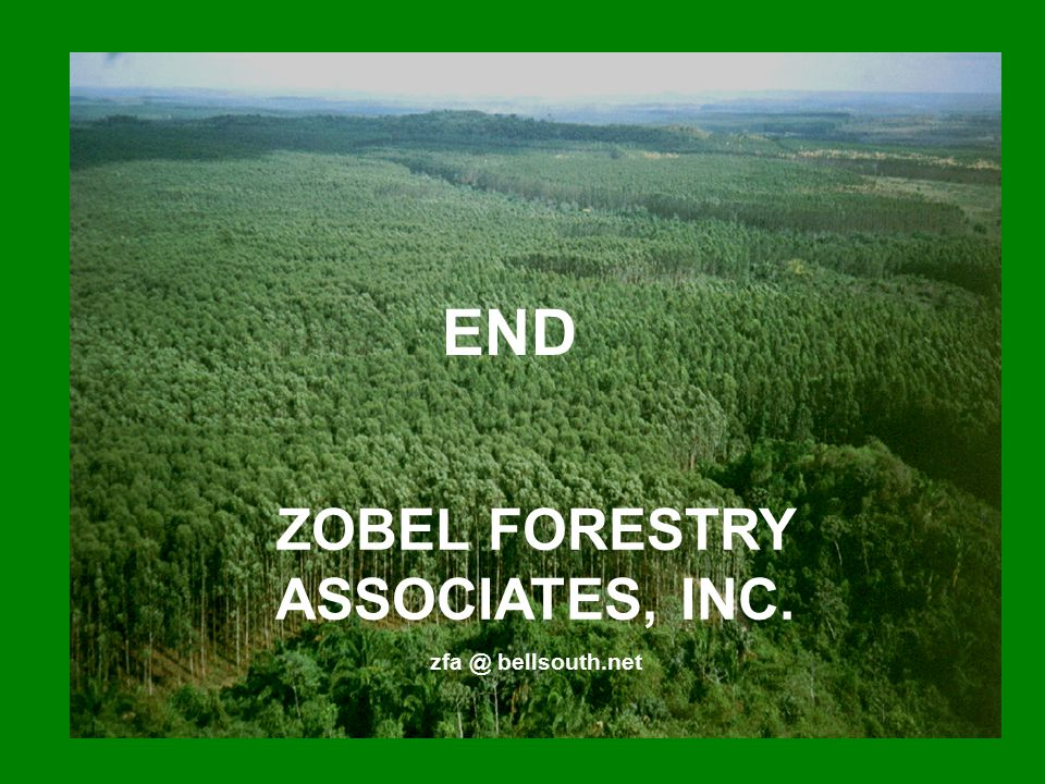 ZOBEL FORESTRY ASSOCIATES, INC.