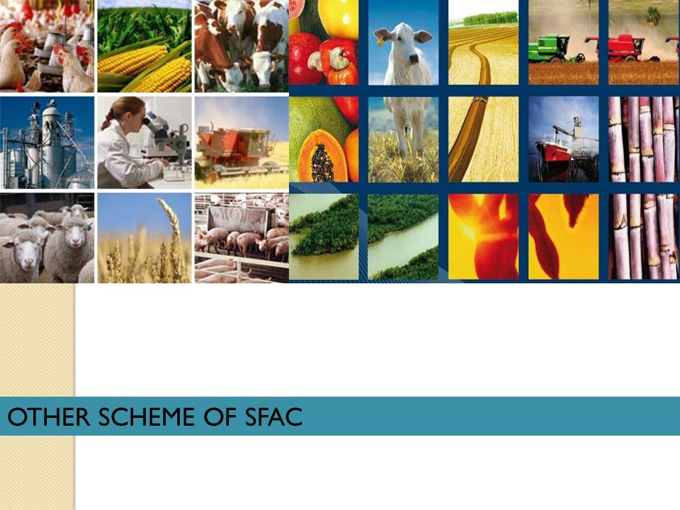 OTHER SCHEME OF SFAC