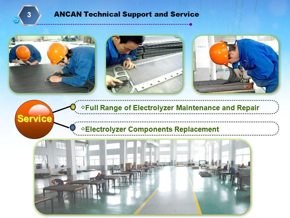 Service 3 ◇Full Range of Electrolyzer Maintenance and Repair