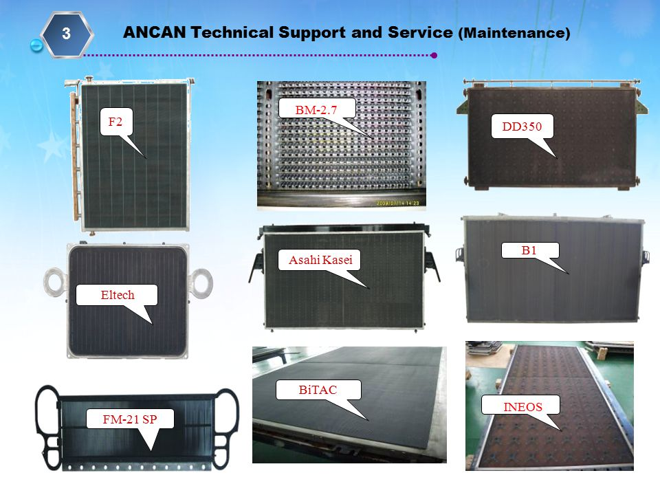 3 ANCAN Technical Support and Service (Maintenance) BM-2.7 F2 DD350 B1