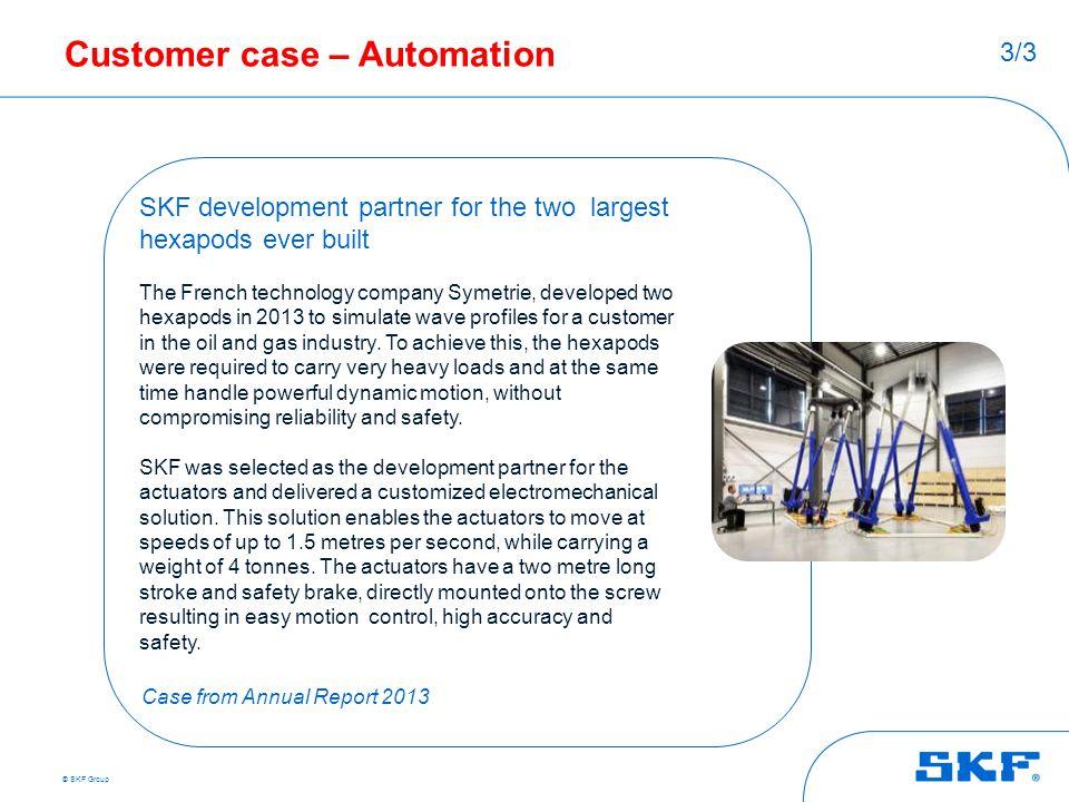 Customer case – Automation