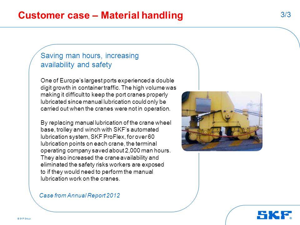 Customer case – Material handling