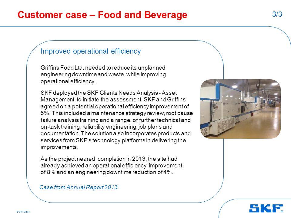 Customer case – Food and Beverage