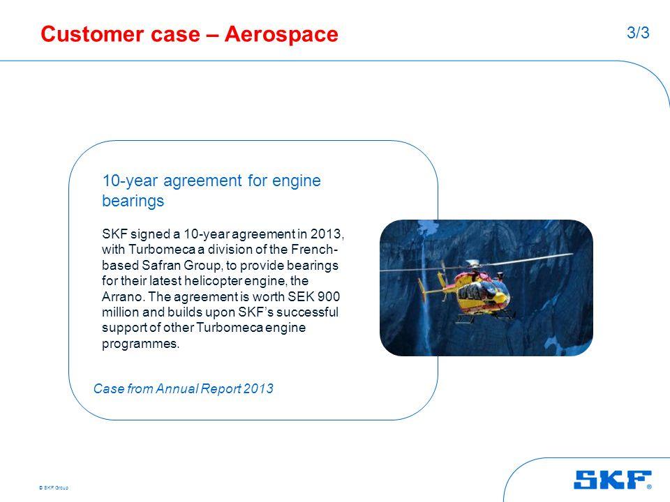 Customer case – Aerospace