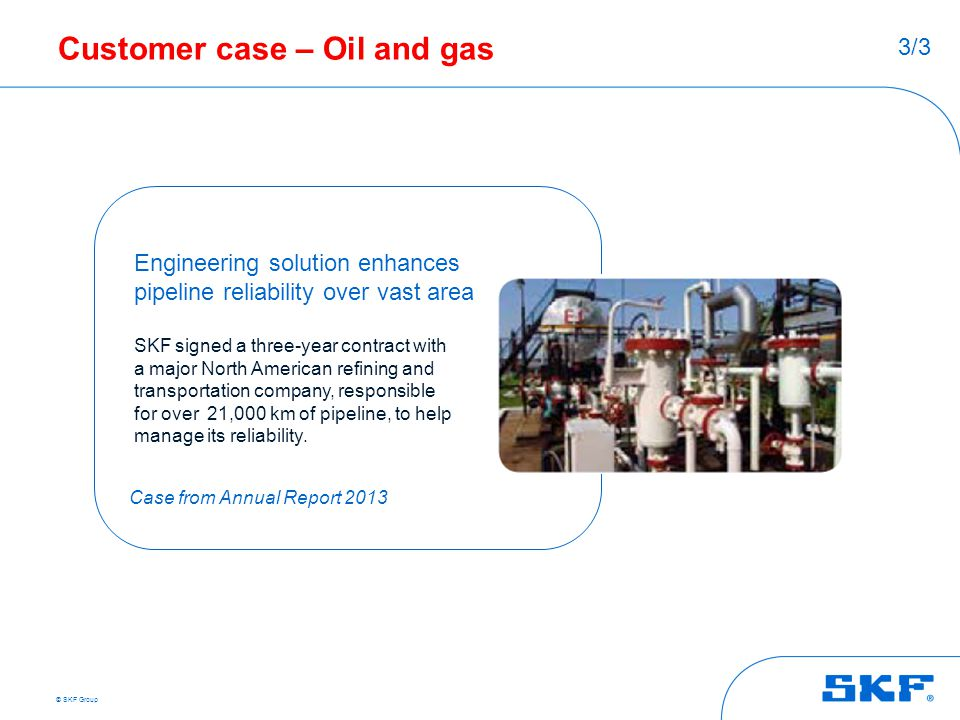 Customer case – Oil and gas