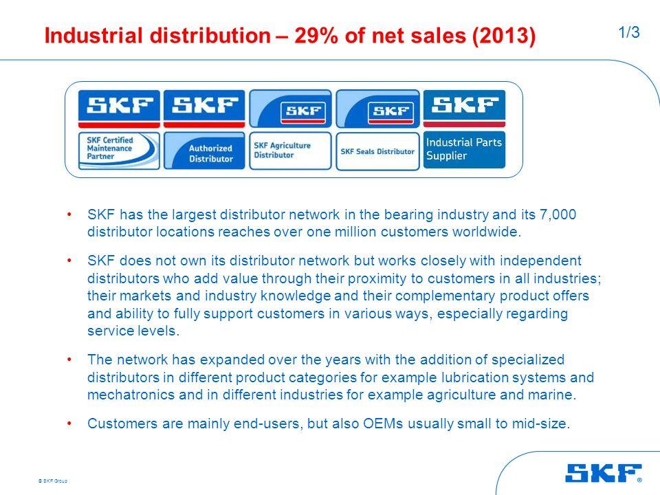 Industrial distribution – 29% of net sales (2013)