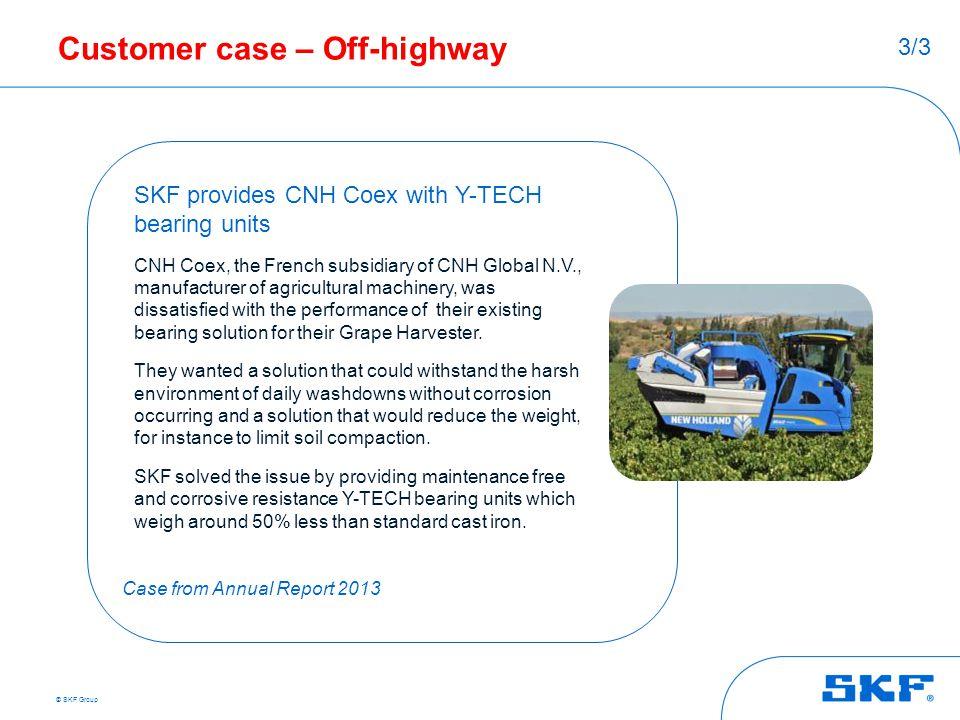 Customer case – Off-highway