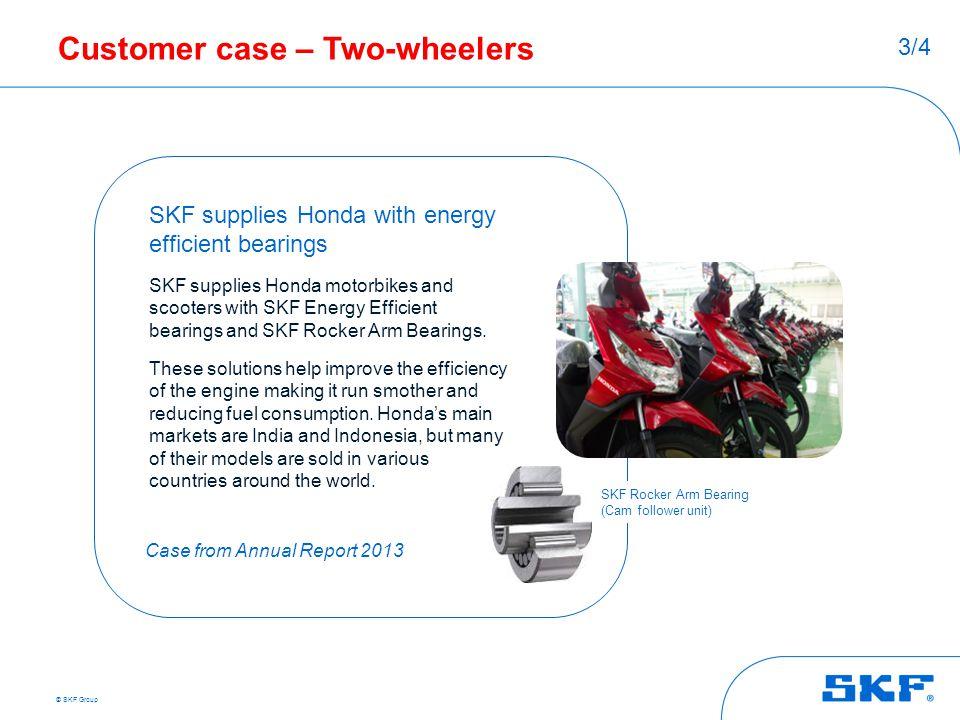 Customer case – Two-wheelers
