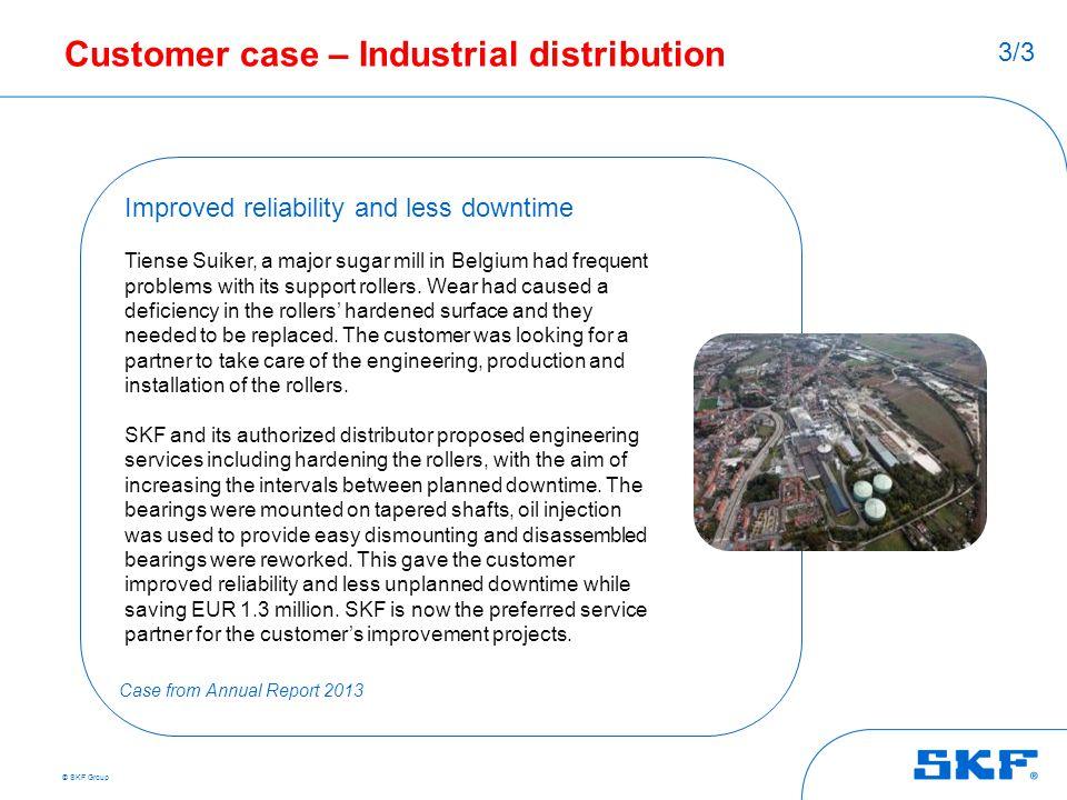 Customer case – Industrial distribution