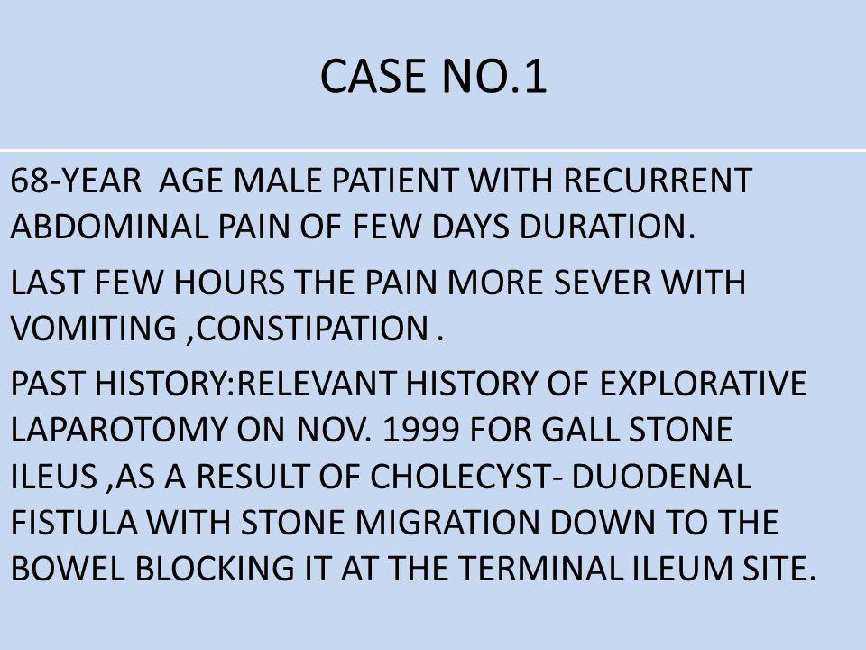 CASE NO.1