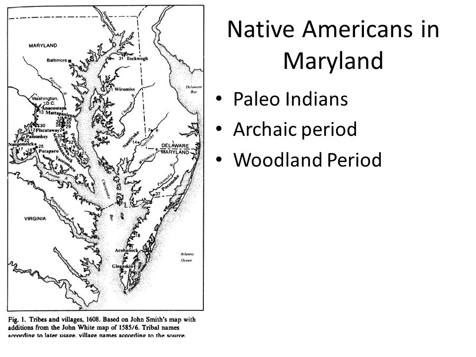 Native Americans in Maryland