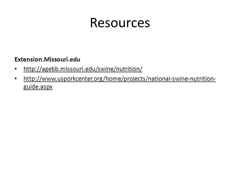 Resources Extension.Missouri.edu