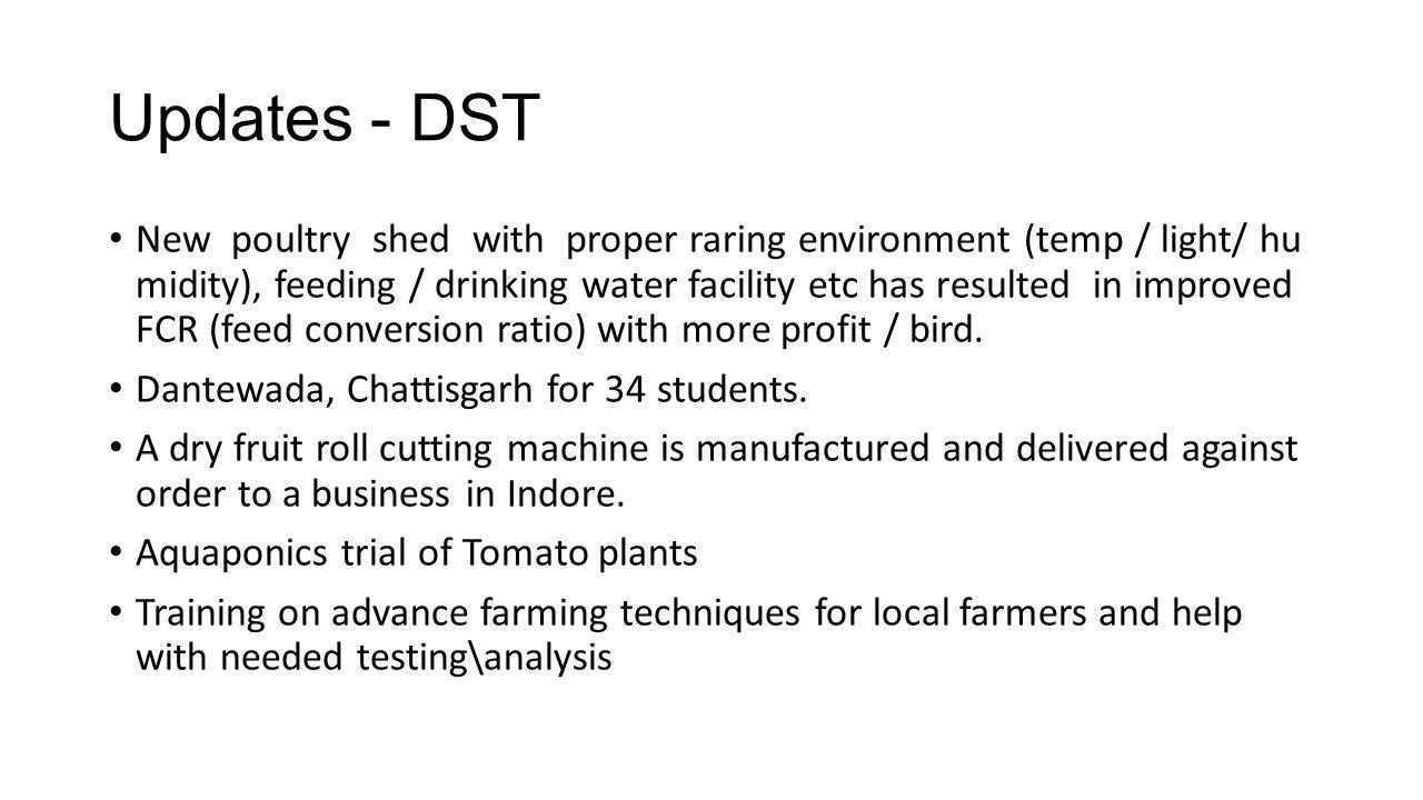 Updates - DST