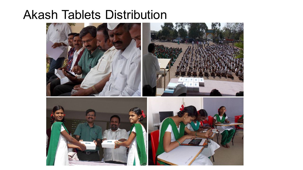 Akash Tablets Distribution