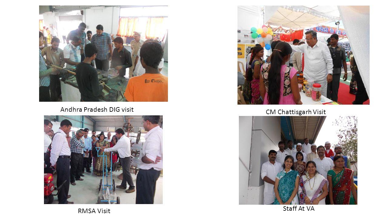 Andhra Pradesh DIG visit