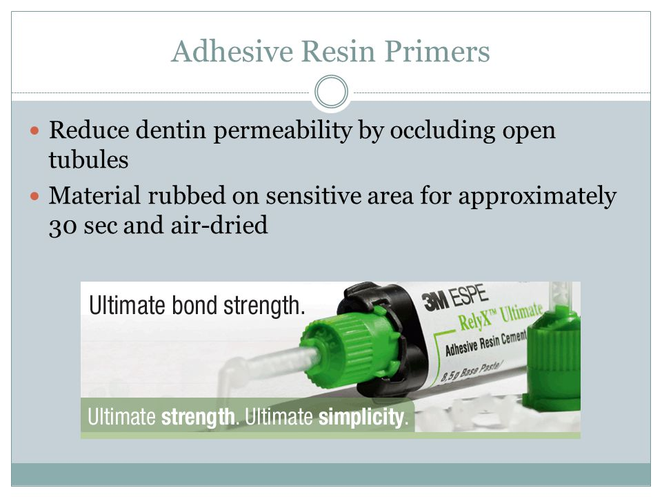 Adhesive Resin Primers