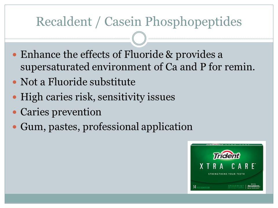 Recaldent / Casein Phosphopeptides