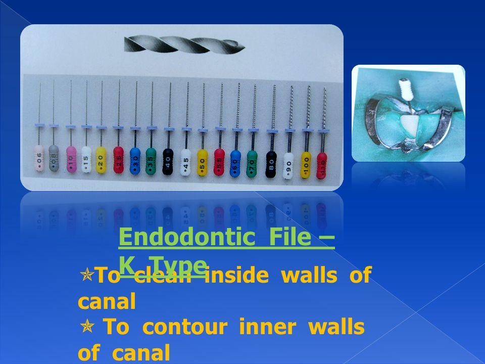 Endodontic File – K Type
